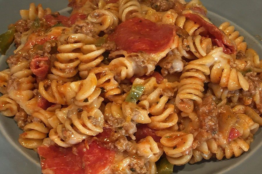 Baked Pizza Casserole images
