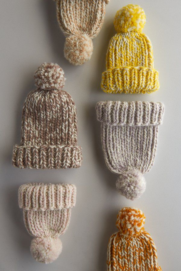 Snow Day Hat in New Colors | Purl Soho | Knitting | Pinterest ...