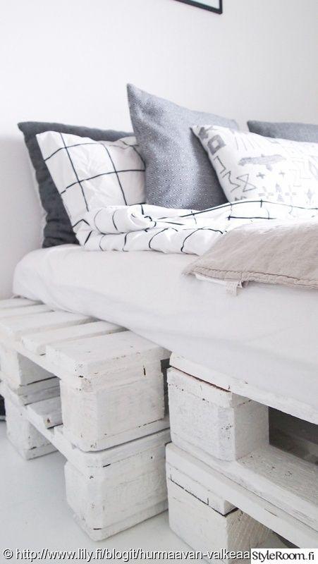 makuuhuone,unelmientalojakoti,tuunausidea,lavasänky,eurolavasänky