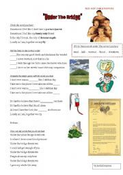 English worksheet: Red Hot Chili Peppers - Under the Bridge SONG