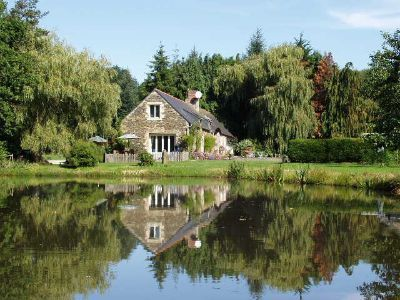 Holiday Cottage And Pool In Brittany. With Award Winning Grounds And  Gardens Of 15 Acres