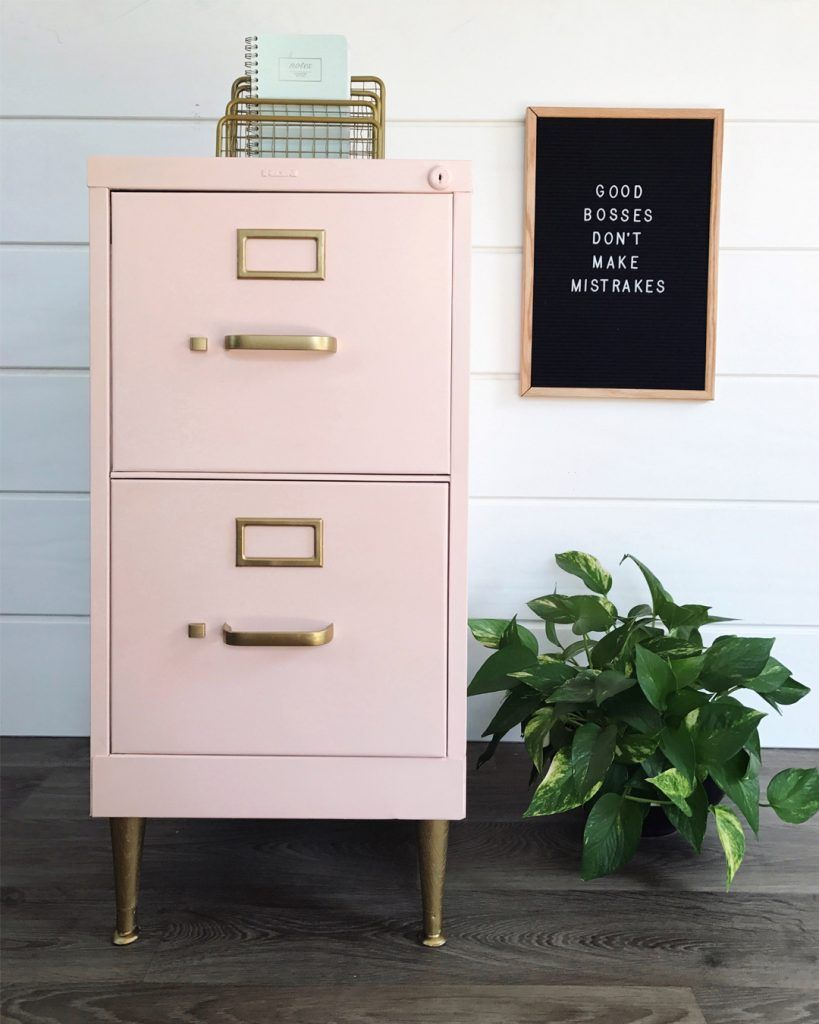 Several Months Ago I Shared How Painted This Inexpensive Filing Cabinet For My Office Ever Since That Makeover Ve Been Searching Just The Right