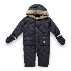1685ed31a J by Jasper Conran Designer babies navy quilted snowsuit. Bought ...
