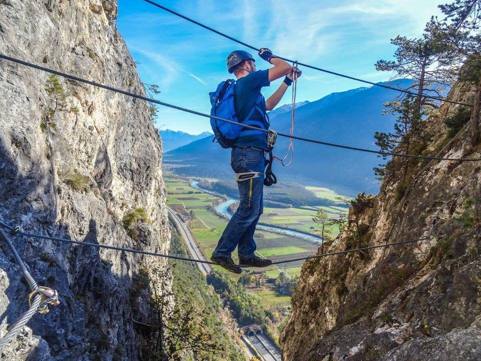 Klettersteig Geierwand : Klettersteig geierwand bei haiming holidays climbing hiking