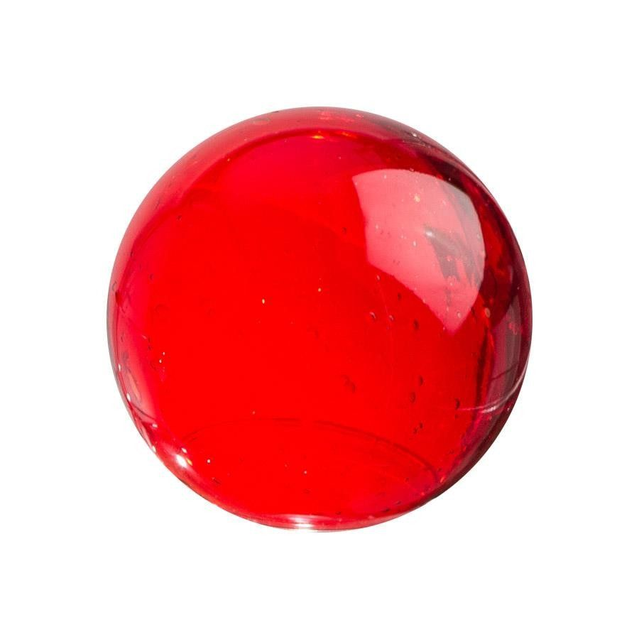 Sphere 4 5 Ruby Decorative Spheres Spheres Red Glass