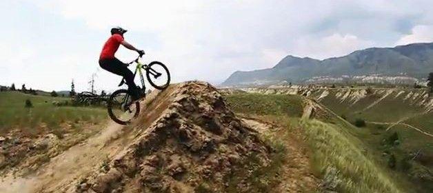 Front Flip on a Downhill bike Insane!!!