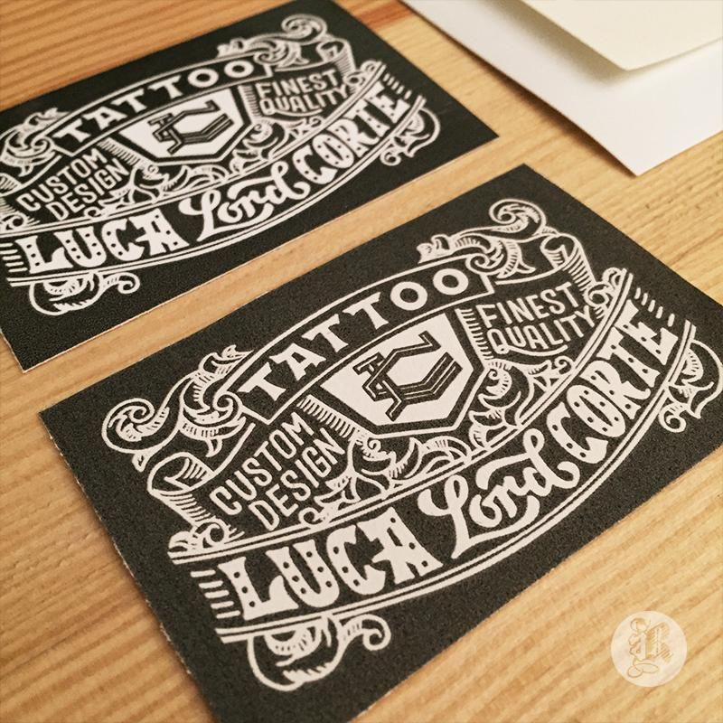 Featured Student Project: Tattoo business card by Reiko Hirata ...
