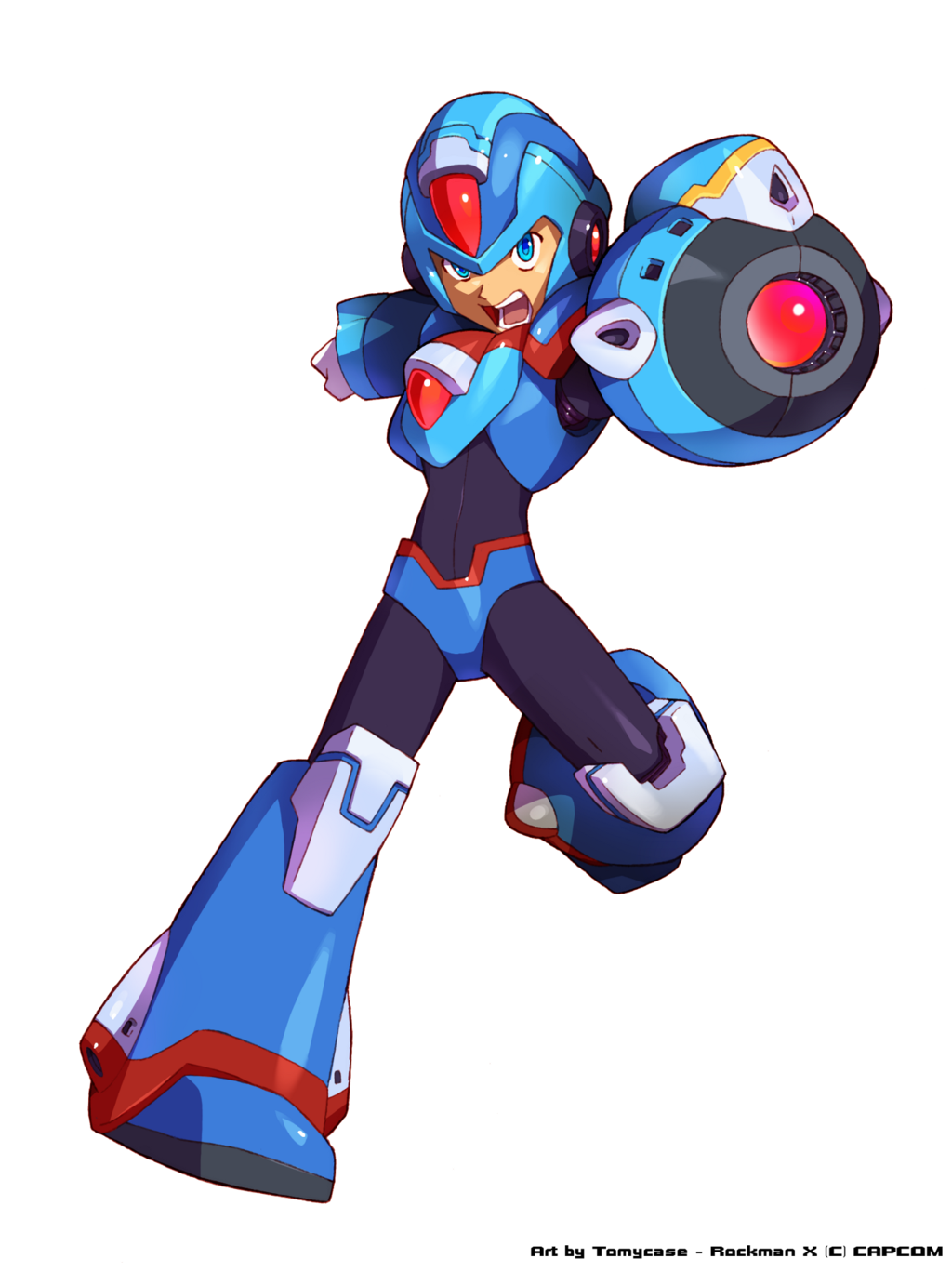 Megaman x coloring pages - Megaman X Revamp Hunter X By Tomycase Deviantart Com On Deviantart