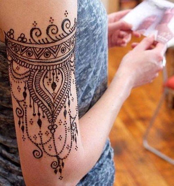 Henna Tattoo Designs Forearm: Inspiração Para Tatuagem