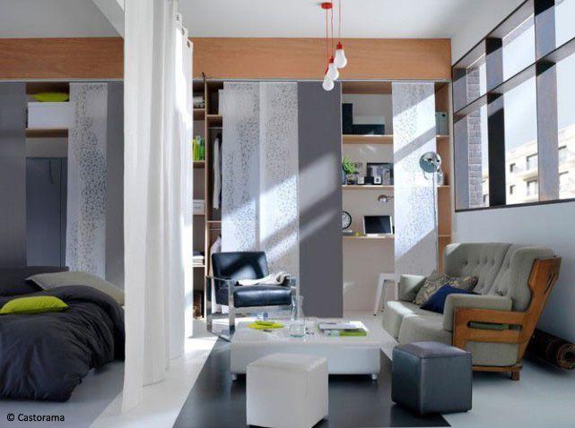 Salon et chambre dans la même pièce idées pour aménager