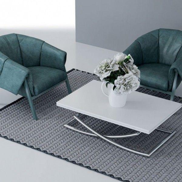 Table Basse Relevable Et Extensible Menphis Table Basse Relevable Table Basse Transformable Table Basse