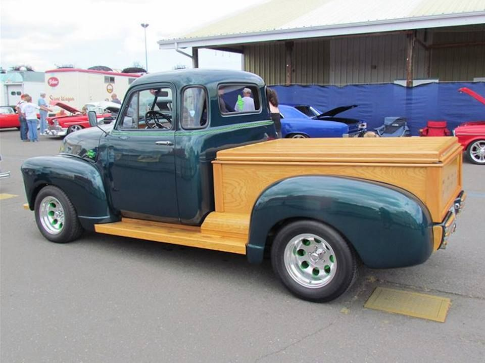 Who likes this 1953 Woody pickup ? We have posted vintage Woody ...