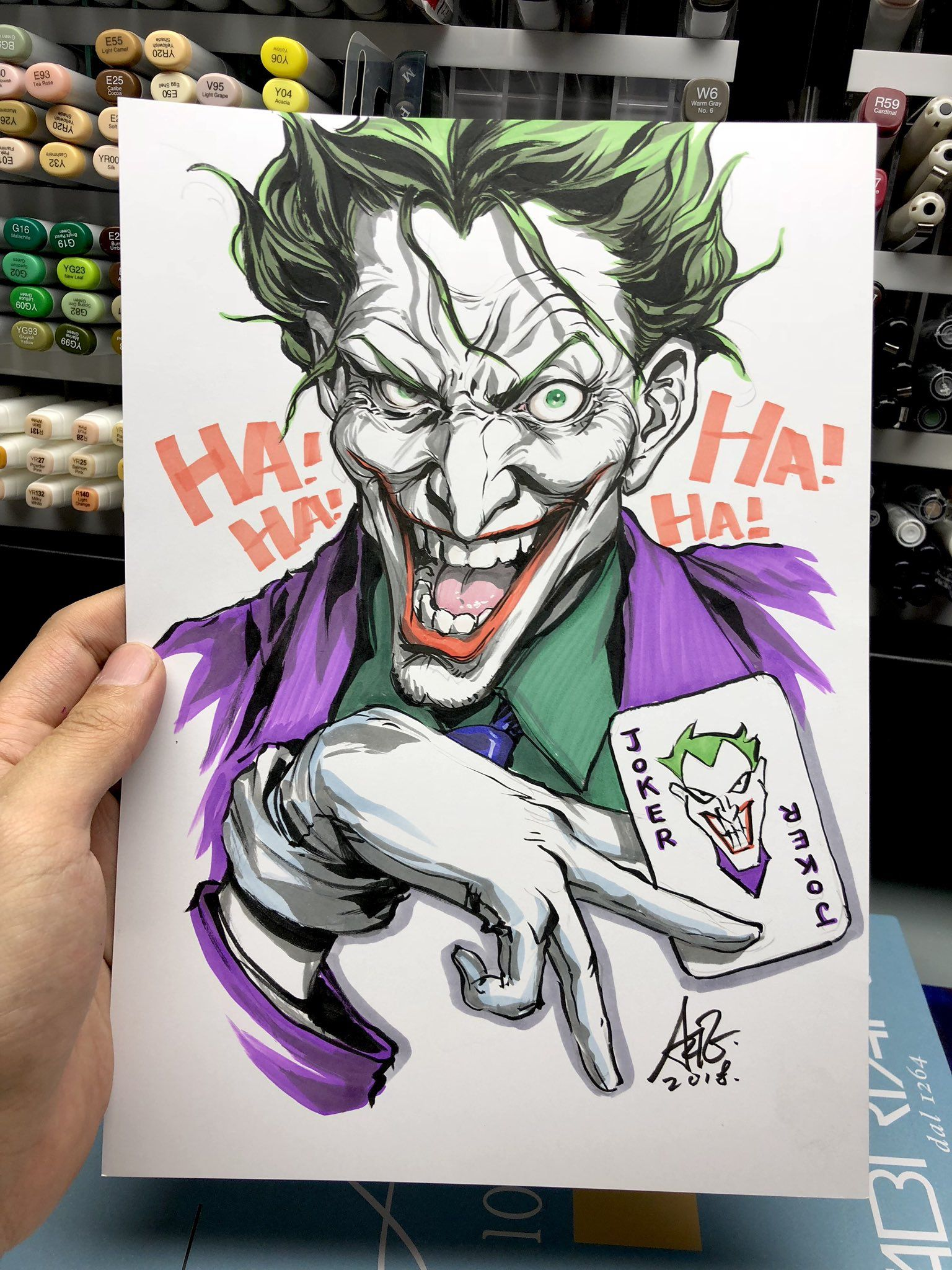 Guason Joker Dibujos Animados