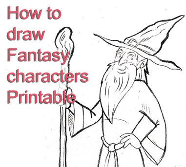 The Art Of Drawing Fantasy Characters Pdf
