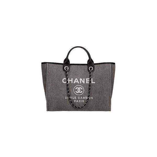 Chanel Spring 2012 Medium Canvas Bag ❤ liked on Polyvore