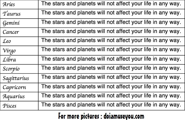 My horoscope for today aries