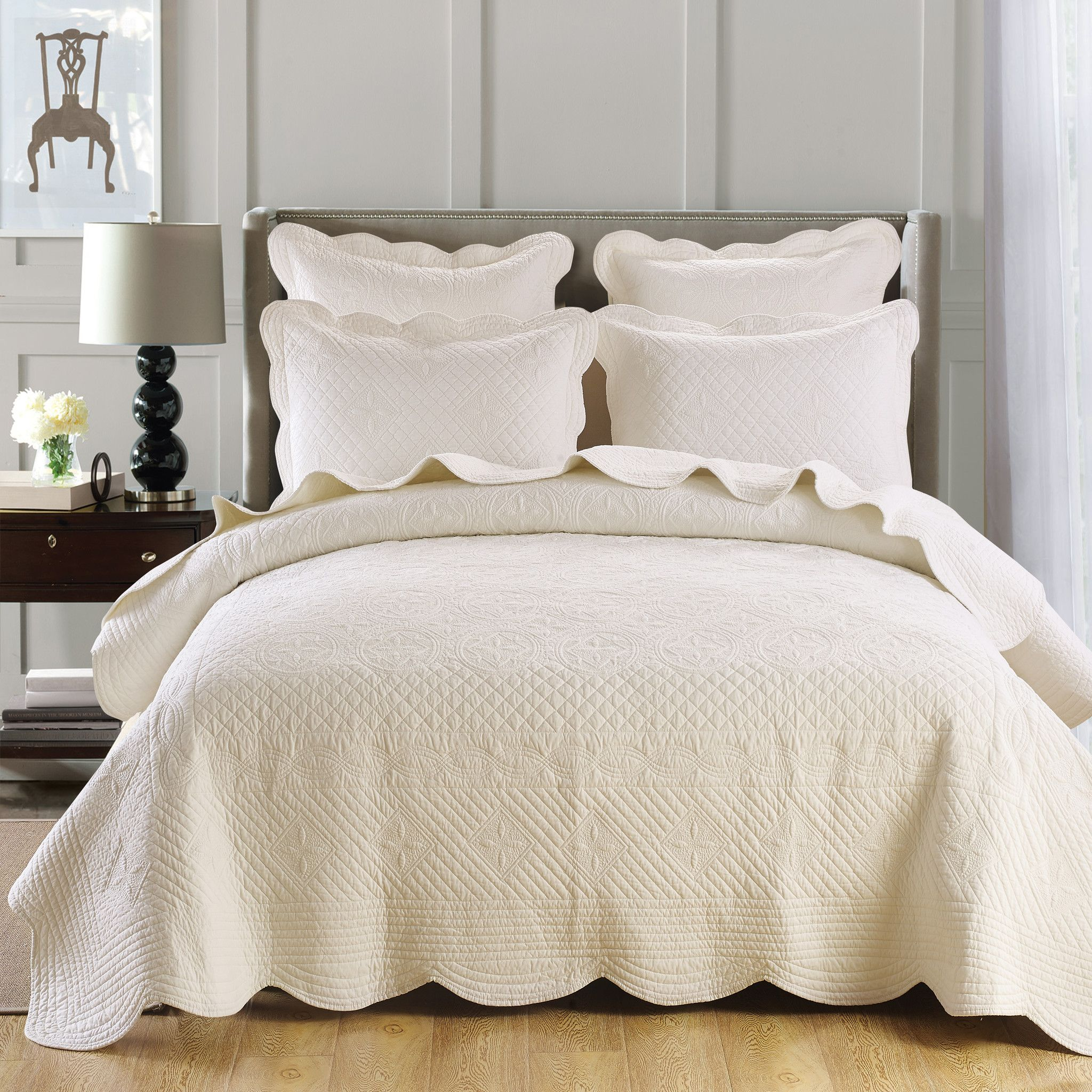 ivory quilt - Google Search | Quilts, Bedspreads & Comforters ... : ivory quilts - Adamdwight.com