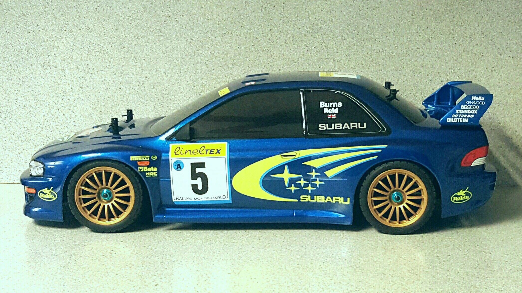 Subaru rc car