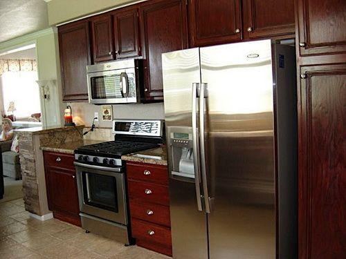Best Small Restaining Kitchen Cabinets Ideas Stock Kitchen 400 x 300