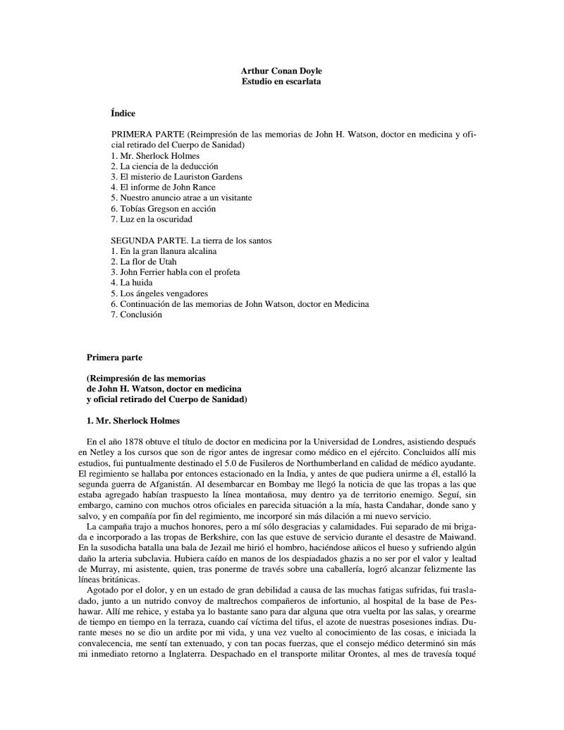 Estudio En Escarlata Person Personalized Items