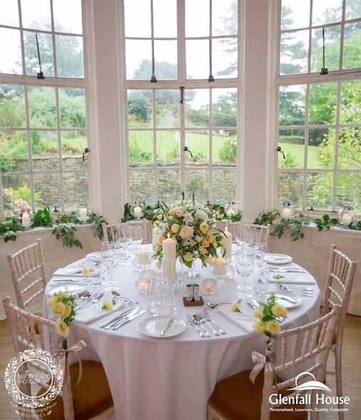 Wedding Flowers Cheltenham: Glenfall House Wedding Venue Cheltenham, Gloucestershire