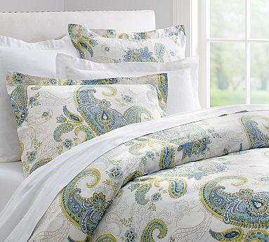 Annie Paisley Organic Duvet Cover Shams Organic Duvet Covers Bed Sheets Sale Organic Bed Sheets