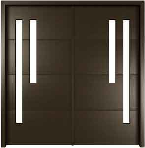 Modern Kitchen Entrance Doors contemporary front door handles | single steel or stainless steel