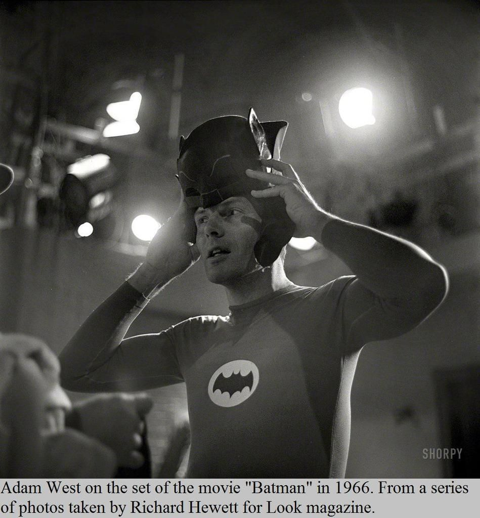 September 19 1928 - Adam West known for the title role in the 1960s ABC series Batman is http://t.co/E1i3MJvmDi http://t.co/jGUKo4pNO0