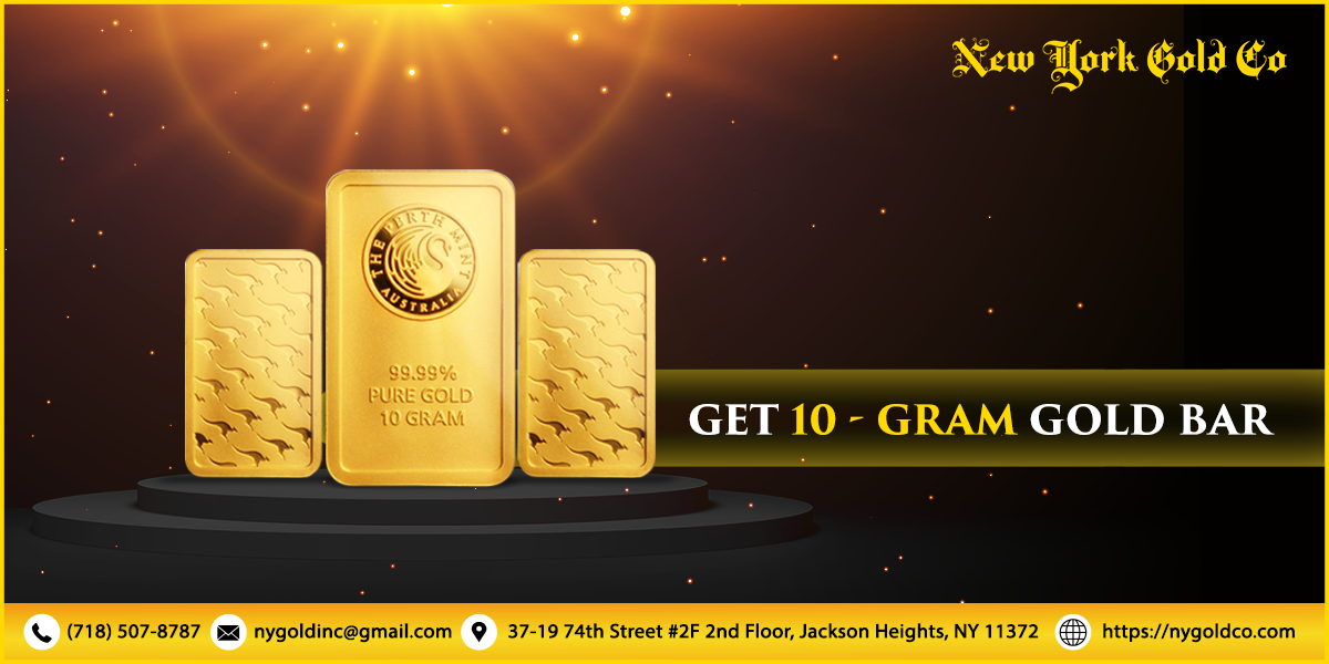 Get 10 Gram Gold Bars At Newyorkgoldco In 2020 Gold Bar Gold Bars For Sale Gold Bullion Bars
