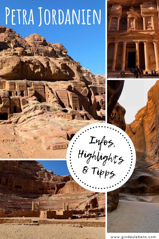 Petra Jordanien Eintritt Highlights Tipps Zur Felsenstadt Jordanien Reisen Reiseziele