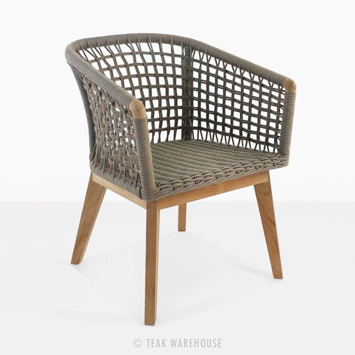 Ravoli Rope Dining Chair - A-Grade Teak - Dining Chairs ...
