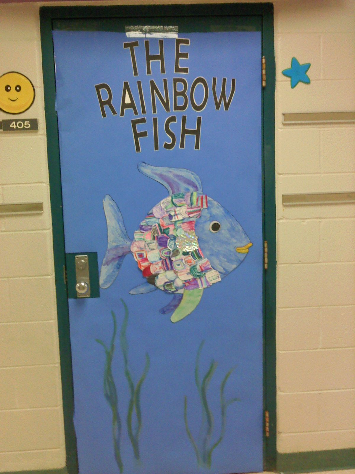 Classroom Decoration Ideas For Grade 3 ~ Door decorating contest at school each student colored a