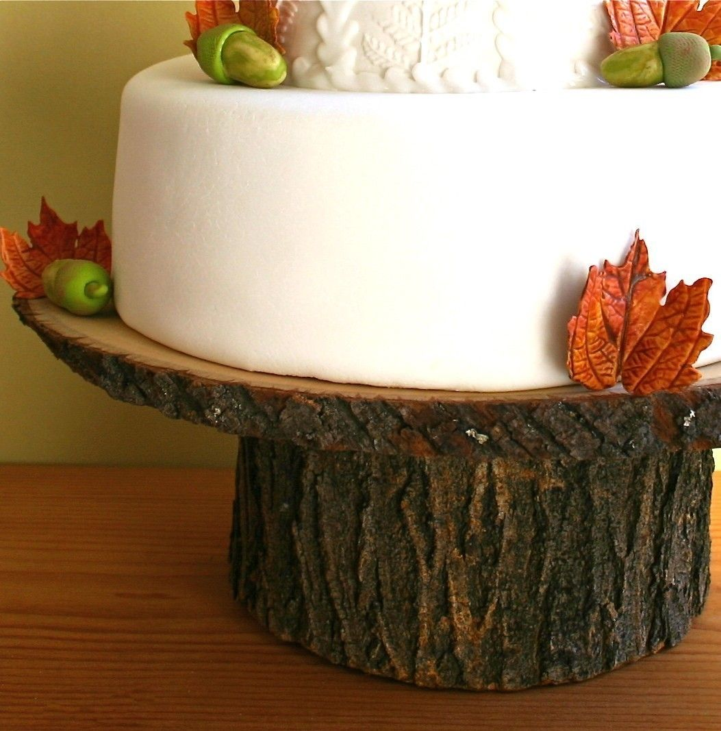 rustic wood cake stand via etsy. | tabletop | Cake ... - photo#17