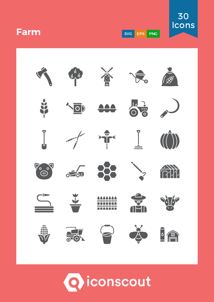 Download Farm Icon Pack Available In Svg Png Eps Ai Icon Fonts Icon Pack Icon Glyph Icon