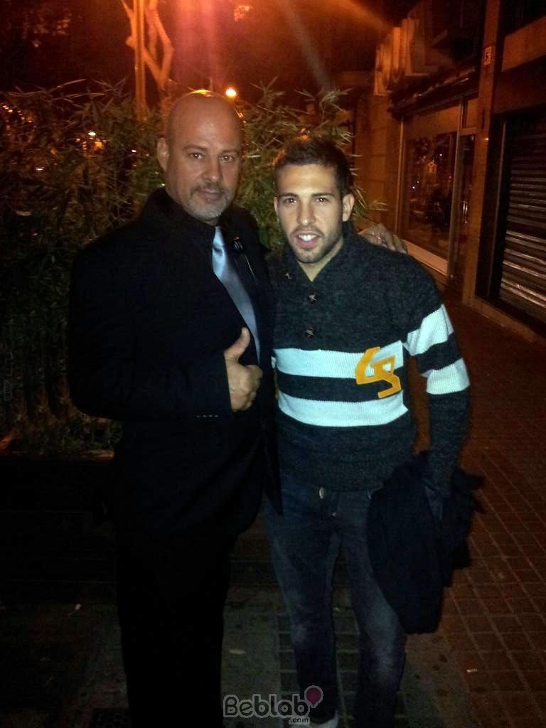 Jordi Alba en Barcelona
