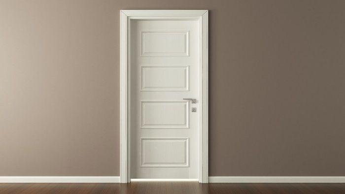 How To Use Decorative Mouldings To Dress Up A Plain Panel Door Ehow Uk Doors Interior Interior Door Installation Cottage Doors Interior