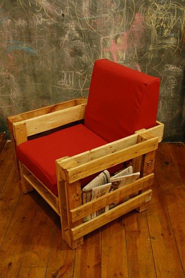 Idées originales de meubles en palettes Studio