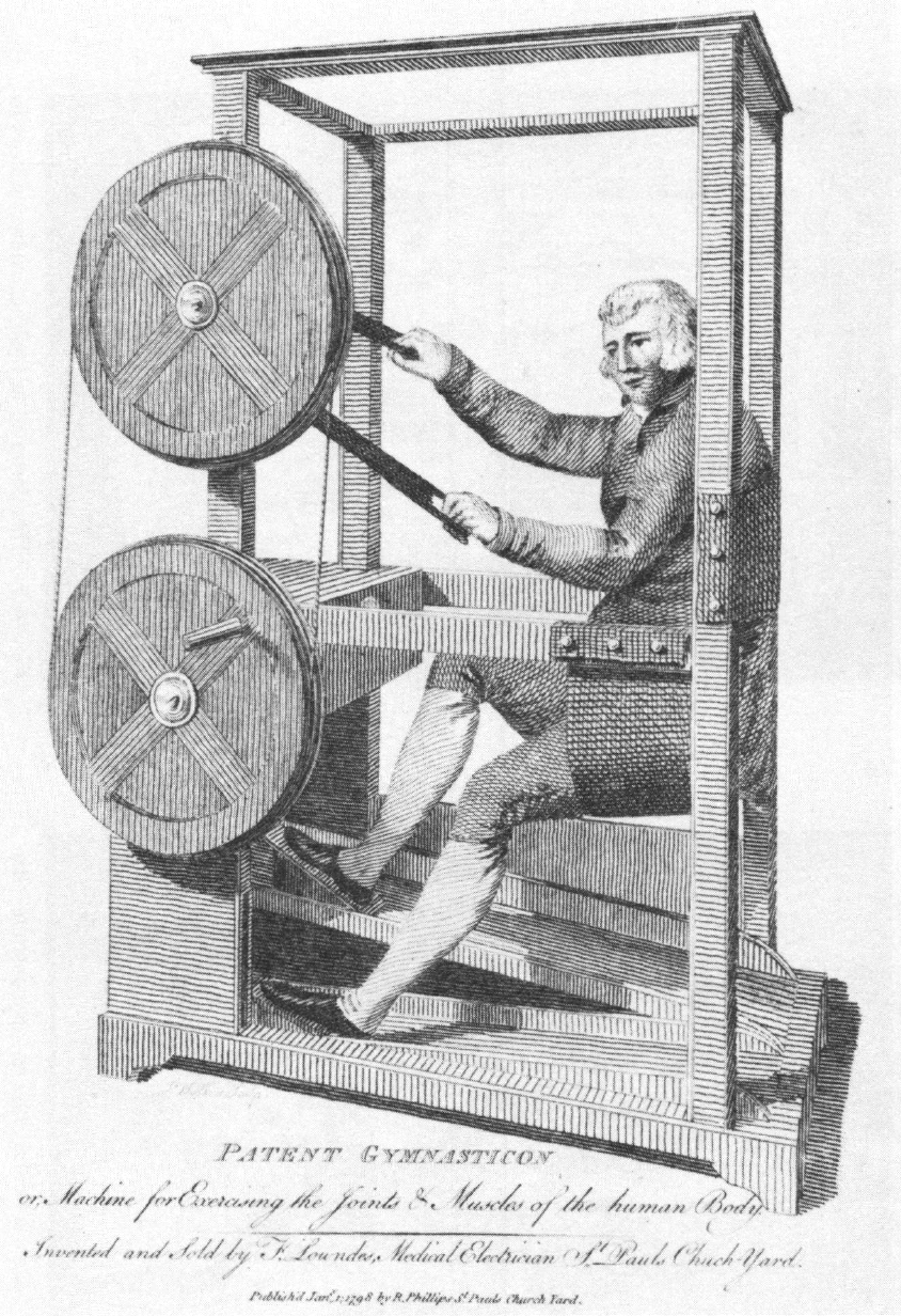 The Gymnasticon A Late 18th Century Exercise Machine Invented By Francis Lowndes J Walker Engraver Based On Specifications By Francis Lowndes 1797 1798 I