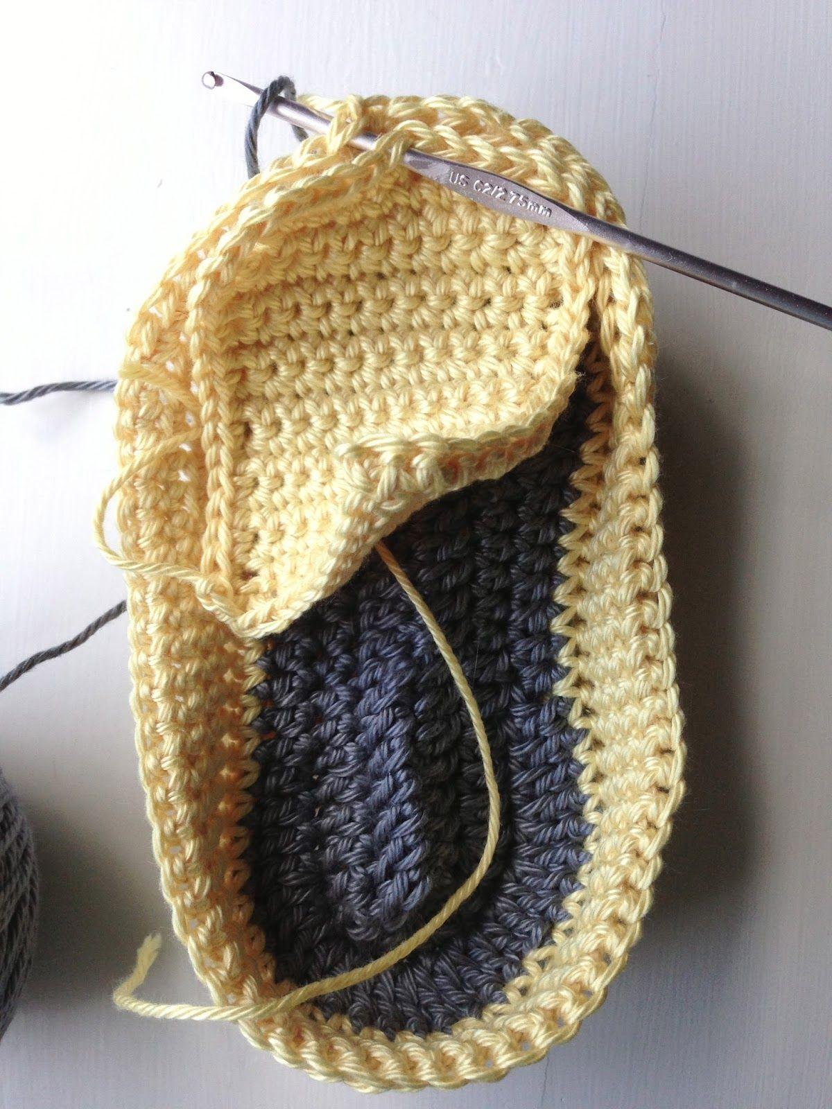 Annoo\'s Crochet World: Baby Loafers Free Pattern ༺✿Teresa Restegui ...