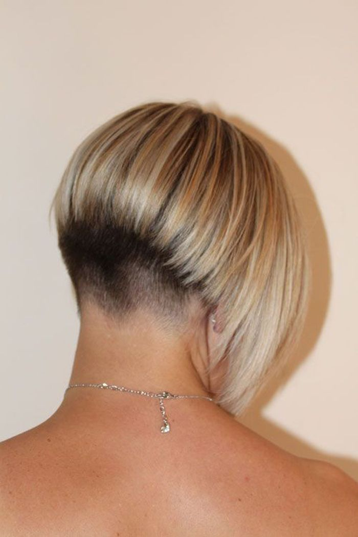 Short Angled Bob Back View | Hair Color Ideas and Styles for 2018