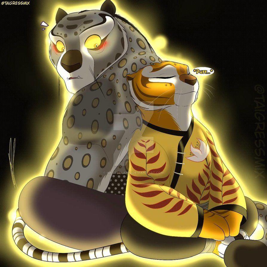 Tai Lung And Tigress
