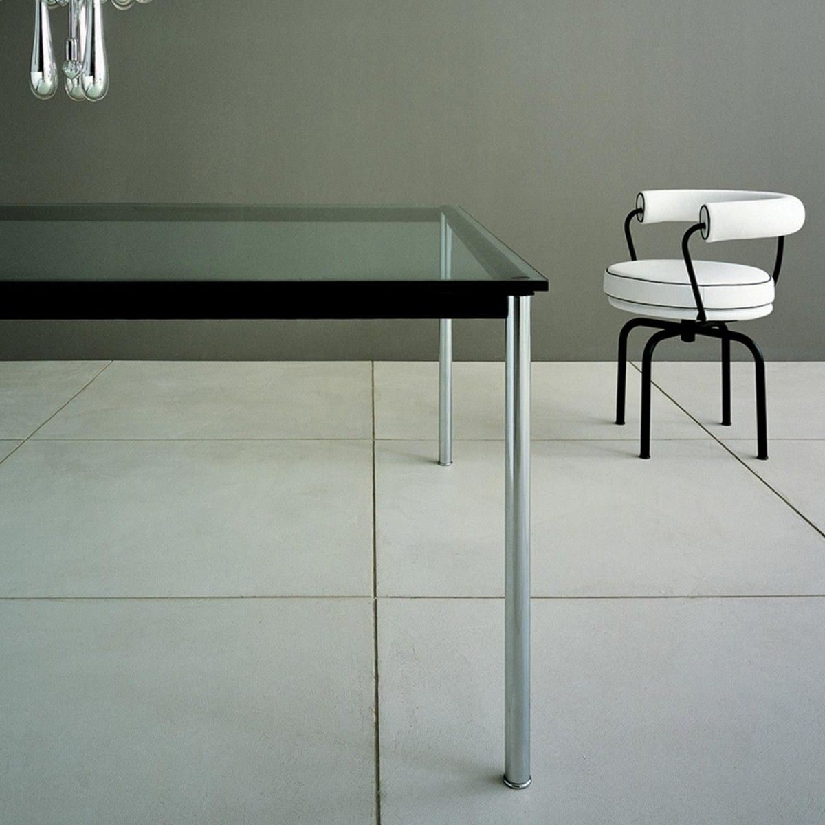 LC10-P table by  Le Corbusier, Jeanneret & Perriand for Cassina