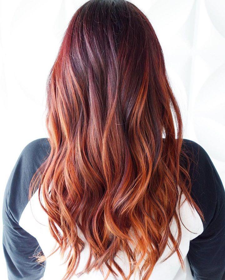 Auburn Hair Color For Autumn Hair Color Ideas Fab Mood