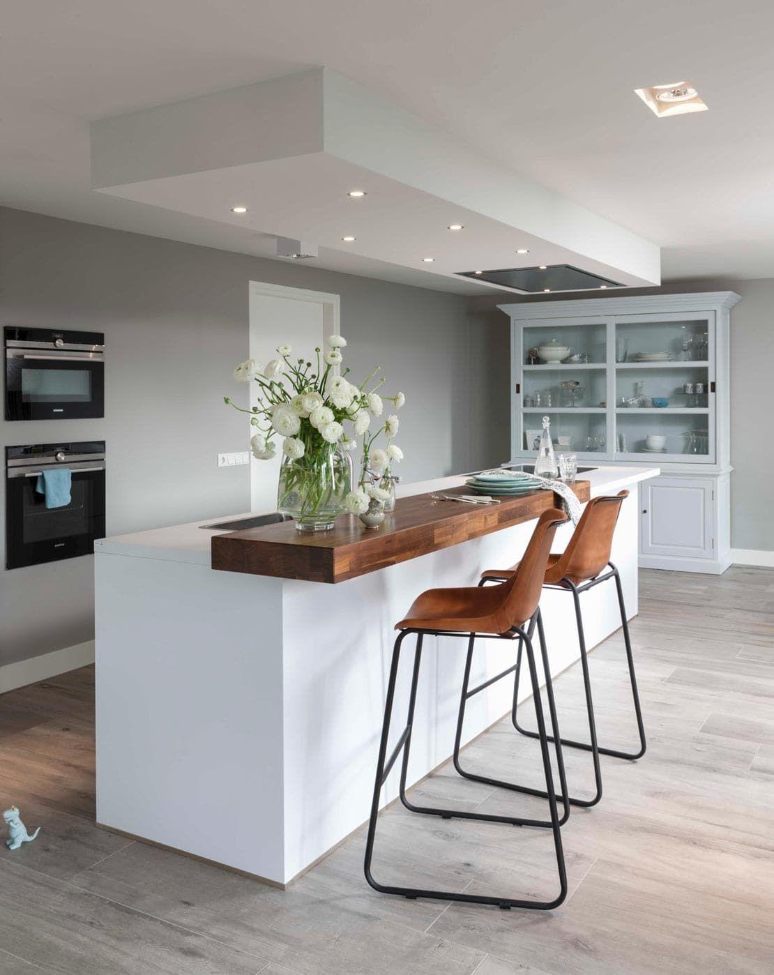 Küchen Tresen Bar  Küchenblock Mit Integriertem Tresen #barhocker