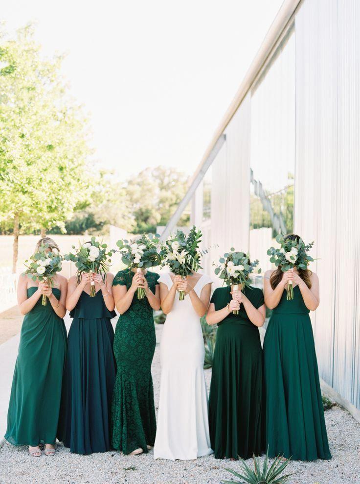 emerald green wedding dress plus size