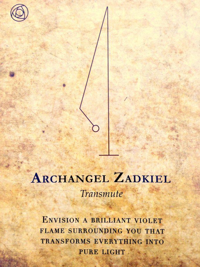 Transmute Alchemy Pinterest Angel Symbols And Archangel Zadkiel