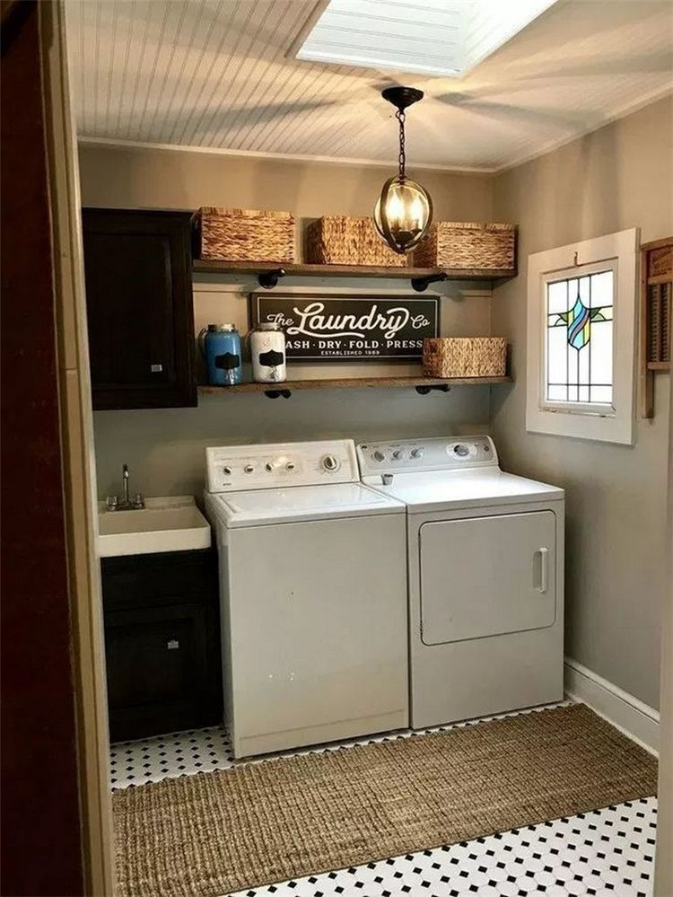 Photo of 55+ Smart Laundry Room Arrangement Ideas To Save Your Space – Page 45 of 57 – Women Fashion Lifestyle Blog Shinecoco.com