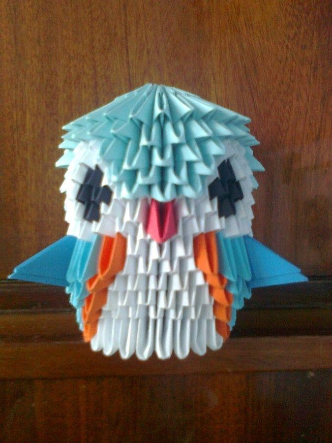 3d origami owl | Domus.01.-Manualitats. | Origami, Origami ... - photo#15