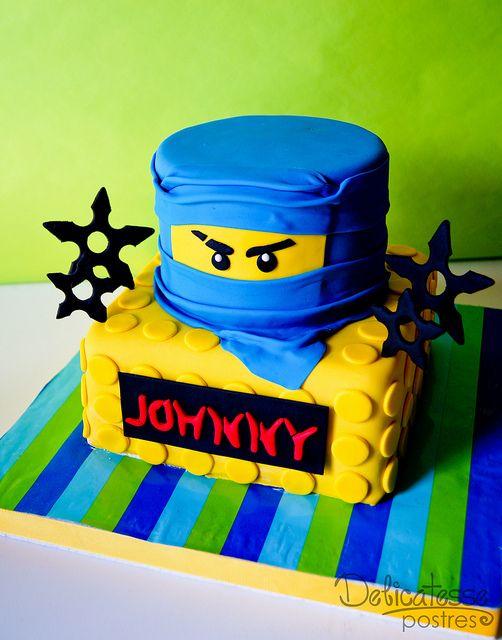 Lego Ninja Cake Ninja Geburtstagskuchen Ninja Kuchen Und Lego