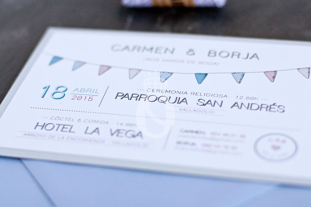 Stop & Dream   Invitación de boda · Wedding card: Party